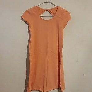 Peach dress by Faded Glory